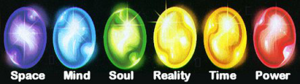 All Infinity Gauntlet Gems Marvel Comics
