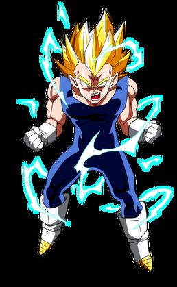 File:Super Saiyan 2 Vegeta Dragon Ball Z.png