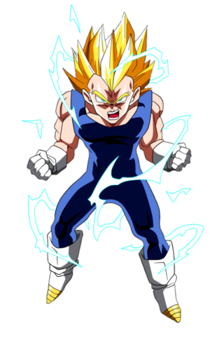 Super Saiyan 2 Vegeta Dragon Ball Z