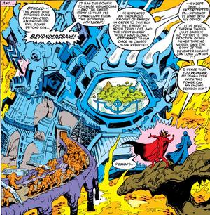 Beyondersbane Marvel Comics