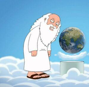 God Family Guy