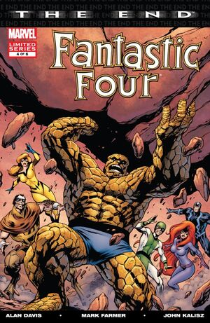 Fantastic Four The End Issue 4 Cover