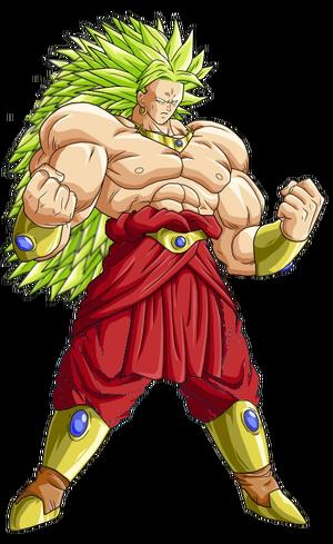Broly Legendary Super Saiyan 3 Form Dragon Ball