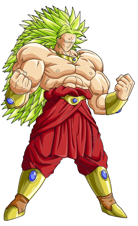 Image broly legendary super saiyan 3 form dragon ball - Broly dragon ball gt ...