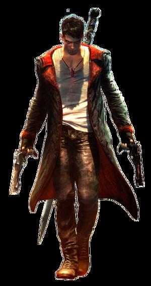 Dante Devil May Cry Reboot