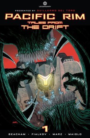 Pacific Rim Tales From The Drift Issue 1 Cover