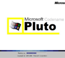 Windows Codename Pluto