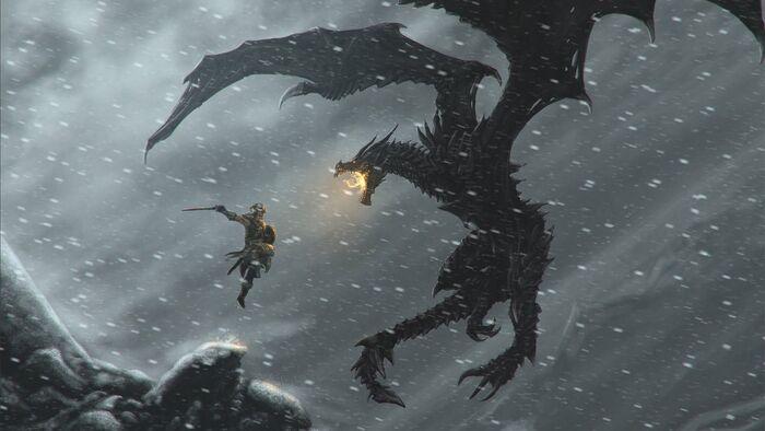 Skyrim dragonborn by pancreas888-d745nvp