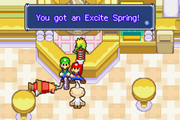 Mario & Luigi Excite Spring