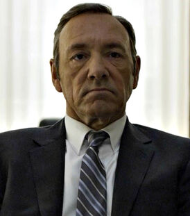 A frank underwood character