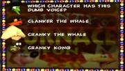Banjo-Kazooie GFF CrankyKong