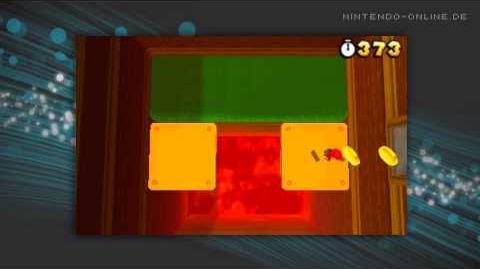 Super Mario 3D Land - World 5-2 Gameplay (Nintendo 3DS)