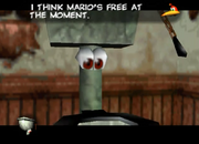 Banjo-Tooie Loggo Mario
