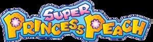 Super Princess Peach Logo