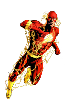 A The Flash Character