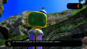 Banjo-Kazooie N&B Mario