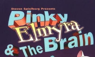 A pinky elmyria and the brain logo
