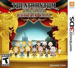 Theatrhythm Final Fantasy Curtain Call US cover
