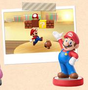 Picross3D2 Mario amiibo