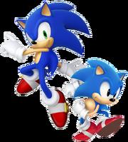 Sonic modern & classic