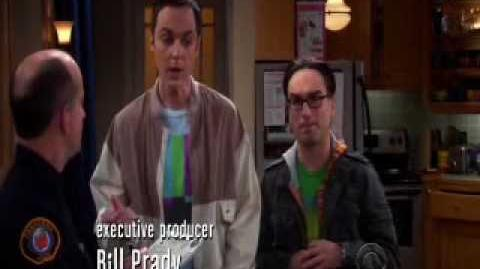 The Big Bang Theory - Sheldon Counts His Stolen Consoles and Video Games