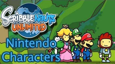 Scribblenauts Unlimited - Nintendo Characters & Items