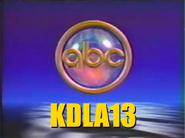 KDLA's logo from 1986-87 using ABC's Together campaign
