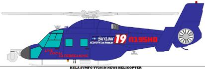 Kcla svmfg yv201n news helicopter by mcspyder1-dal0tch