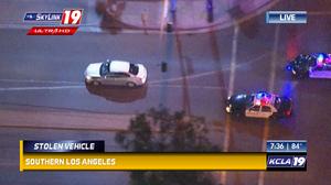 Kcla car chase scene