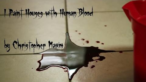 """""""I Paint Houses with Human Blood"""" reading by Brimstone Below"""