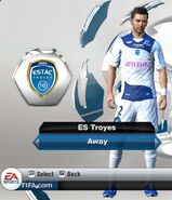 Troyes away