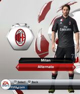Ac milan alternate