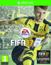 FIFA 17 Cover Xbox One