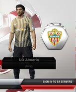Almeria away