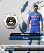 Udinese away