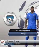 Earthquakes away