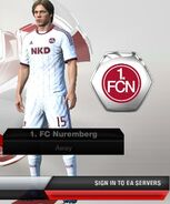 Nuremberg away