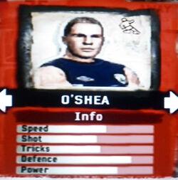 FIFA Street 2 O'Shea