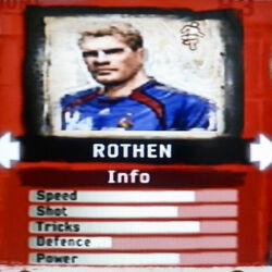 FIFA Street 2 Rothen