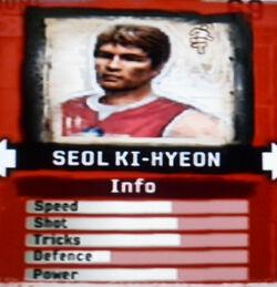 FIFA Street 2 Seol Ki-Hyeon
