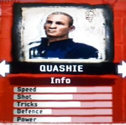FIFA Street 2 Quashie