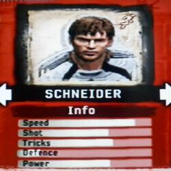 FIFA Street 2 Schneider