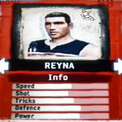 FIFA Street 2 Reyna