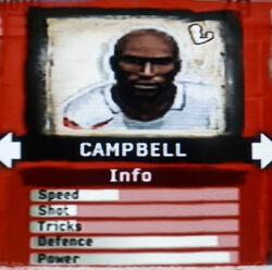 FIFA Street 2 Campbell