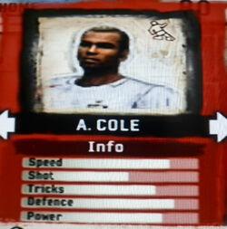 FIFA Street 2 A. Cole