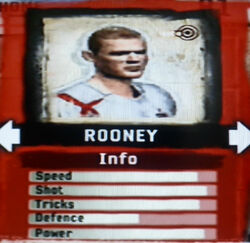 FIFA Street 2 Rooney