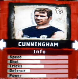 FIFA Street 2 Cunningham