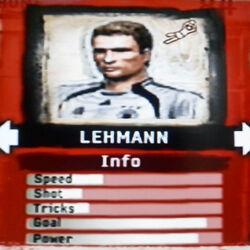 FIFA Street 2 Lehmann