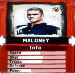 FIFA Street 2 Maloney
