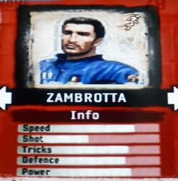 FIFA Street 2 Zambrotta